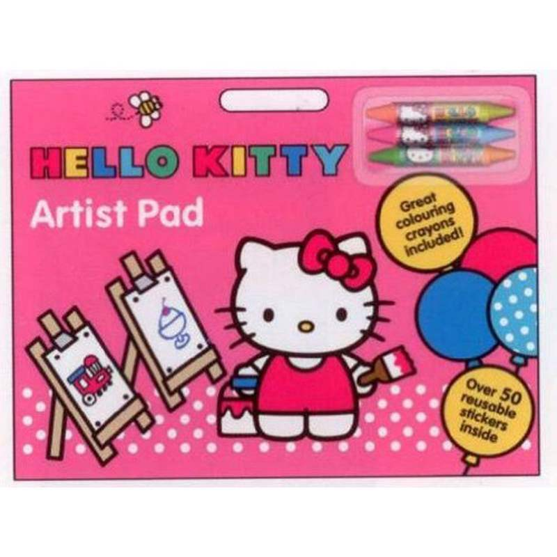 Alligator Books Hello Kitty Artist Pad