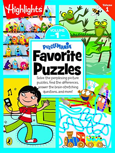 Puzzlemania Favorite Puzzles Vol 1 [paperback] Na