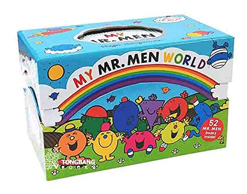 My Mr. Men World 52 Books Collection Set