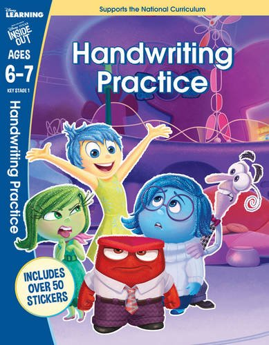Inside Out - Handwriting Practice (disney Learning)