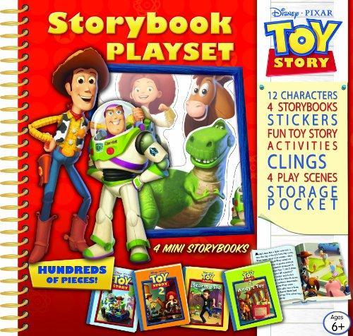 Toy Story Storybook Playset (disney Pixar Toy Story)