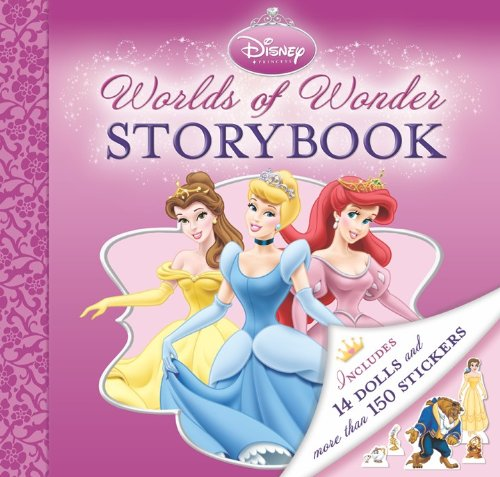 Disney Princess Storybook, Paper Dolls, And Stickers