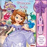 Disney Junior - Sofia The First - Princess Sofia Magic Wand And Book Set - Pi Kids