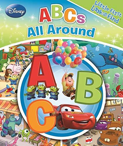 Disney Toy Story, Cars, And More! - Abcs All Around - Little First Look And Find - Pi Kids