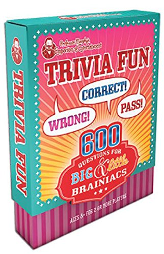 Professor Murphy's Game Cards: Trivia Fun: 600 Questions For Big & Little Brainiacs