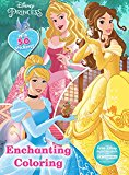 Enchanting Coloring (disney Princess) (giant Coloring Book With 50 Stickers)