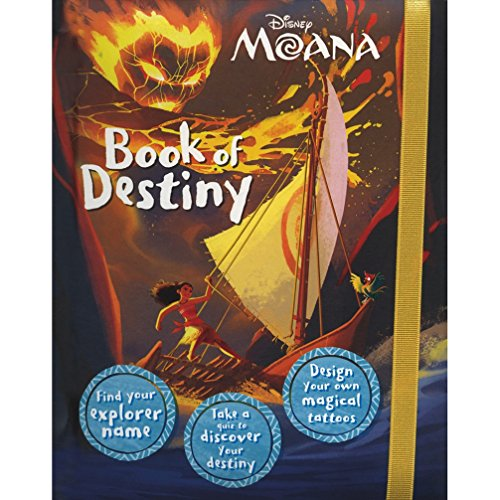 Disney Moana Book Of Destiny