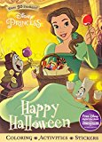 Disney Princess Happy Halloween (sticker Scenes & Coloring Book)