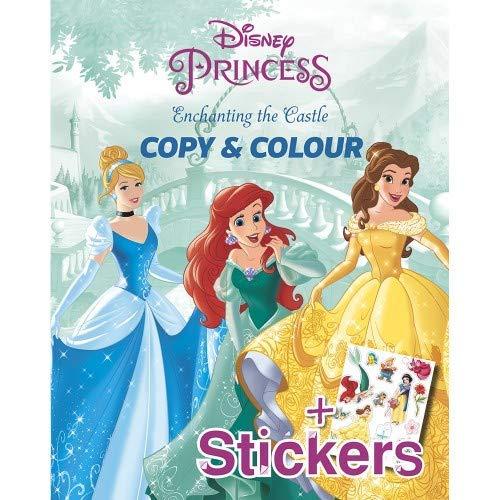 Disney Princess Enchanting The Castle Copy & Colour