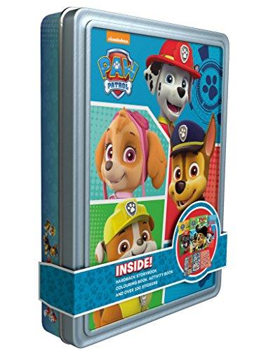 Nickelodeon Paw Patrol Happy Tin (book & Merchandise)