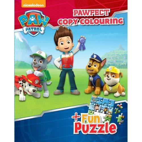 Paw Patrol Pawfect Copy Colouring