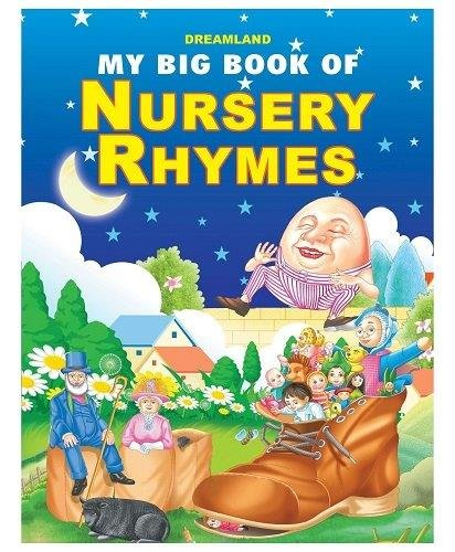 My Big Book Of Nursery Rhymes [paperback] [jan 01, 2014] Dreamland Publications
