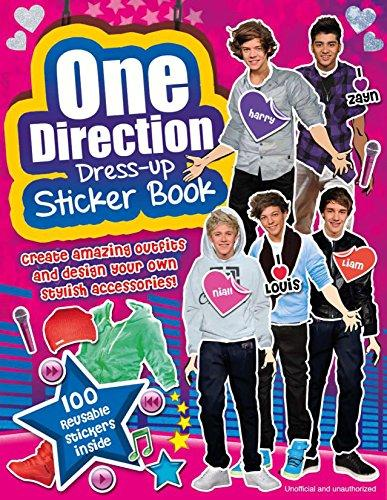 One Direction: Dress-up Sticker Book