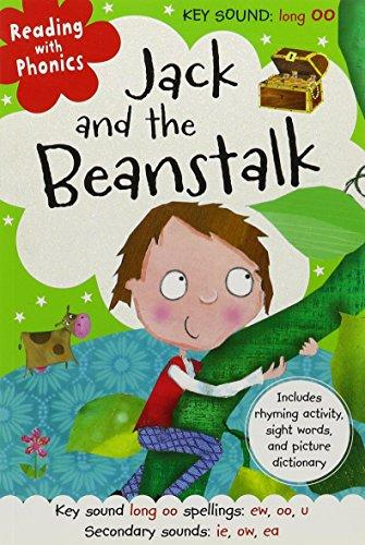 Reading With Phonics Jack And The Beanstalk [paperback] Clare Fennell