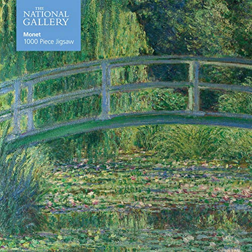 Adult Jigsaw National Gallery Monet: Bridge Over Lily Pond: 1000 Piece Jigsaw (1000-piece Jigsaws)