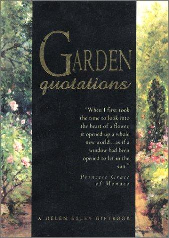 Garden Lovers Quotations