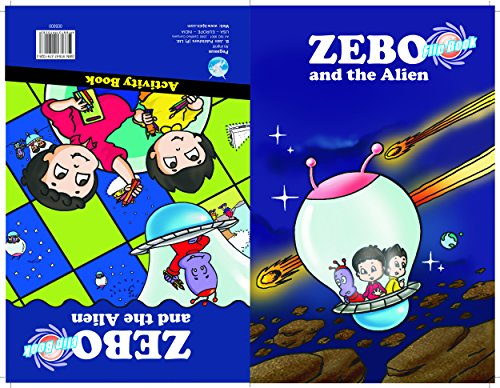 Zebo And The Alien - Flip Book (zebo Series)