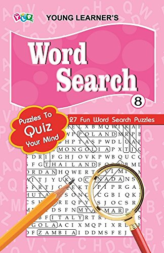 Word Search Pad - 8