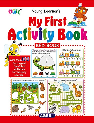 My First Activity Book - Red