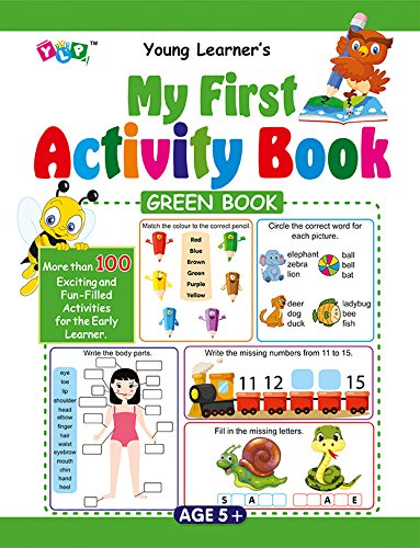 My First Activity Book - Green