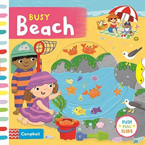 Busy Beach (Busy Books) - Board book