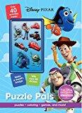 Disney Pixar Puzzle Pals: Puzzles, Coloring, Games, and More!  - Paperback