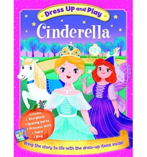 Dress Up and Play: Cinderella (Play Book Dress-Up) - BOX