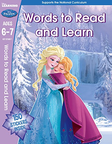 Frozen - English Vocabulary (year 2, Ages 6-7) (disney Learning) - (PB)