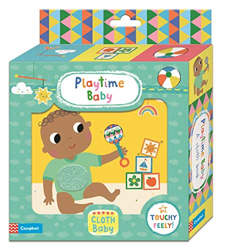 Playtime Baby Cloth Book - (BB)