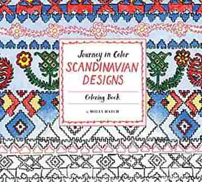 Journey in Color: Scandinavian Designs Coloring Book