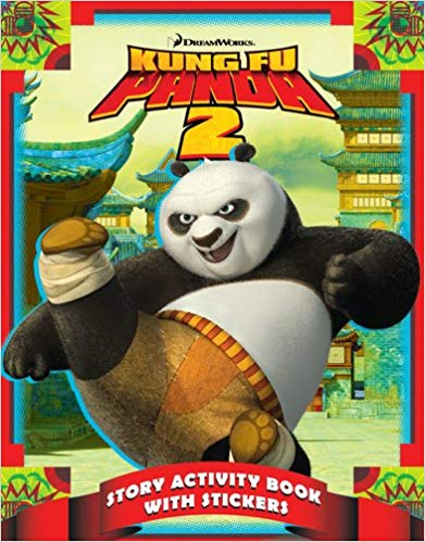Kung Fu Panda 2 Story Activity Book With Stickers