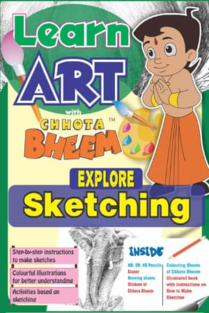 LEARN ART WITH Chhota BHEEM EXPLORE SKETCHING