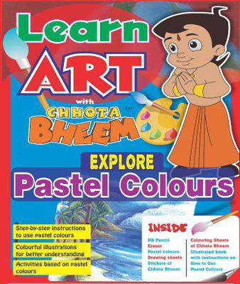 Learn Art With Chotta Bheem Explore Pastel Colours