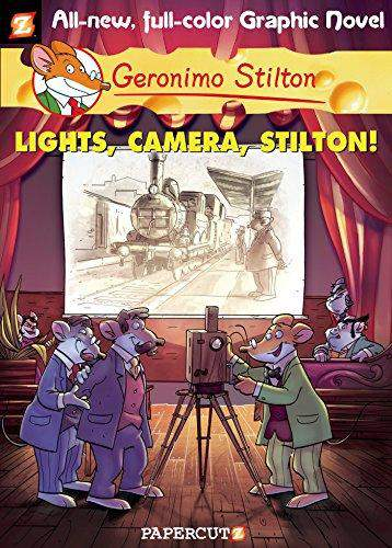 Geronimo Stilton Graphic Novels 16 Lights Camera Stilton