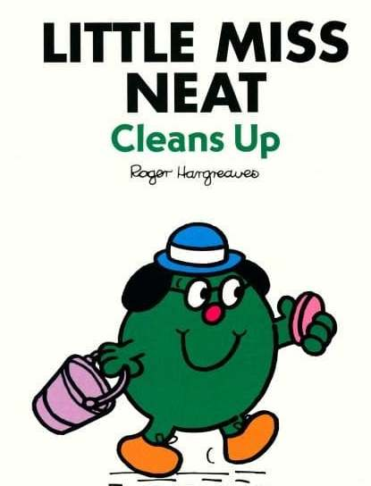 Little Miss Neat Cleans Up