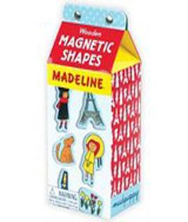 Madeline Shapes Wooden Magnetic Set