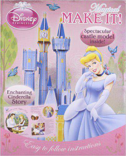 Magical Make It!: Build Cinderella's Magical Castle...plus the Story of Cinderella and the Sapphire Ring (Disney Princess)