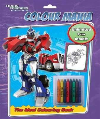 Colour Mania: Transformers Prime
