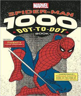 Marvel's Spider-Man 1000 Dot-to-Dot Book Twenty Comic Characters to Complete Yourself