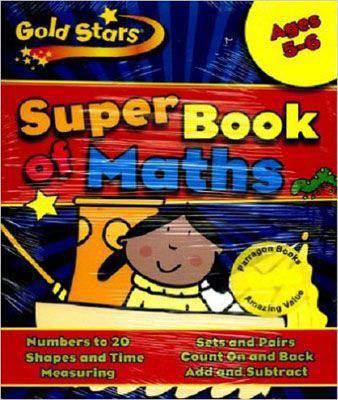 Gold Stars KS1 Maths Workbook Age 5-7