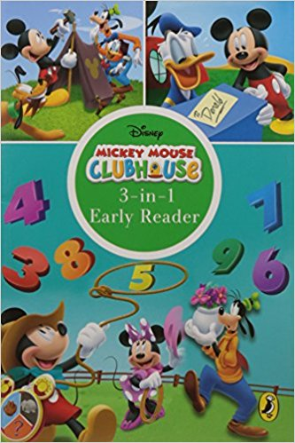 Mickey mouse club house 3-in-1 Reader Early Learning