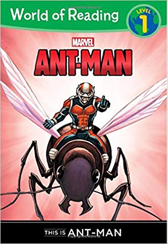 World of Reading AntMan This is AntMan Level 1