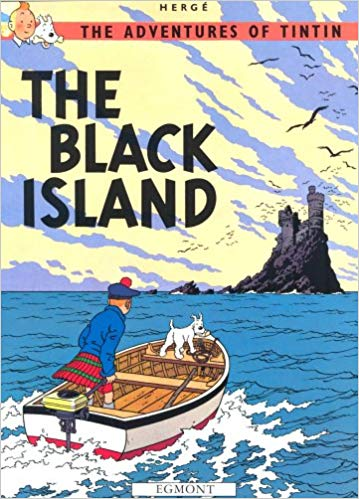 The Adventures Of Tintin: The Black Island        -     (PB)