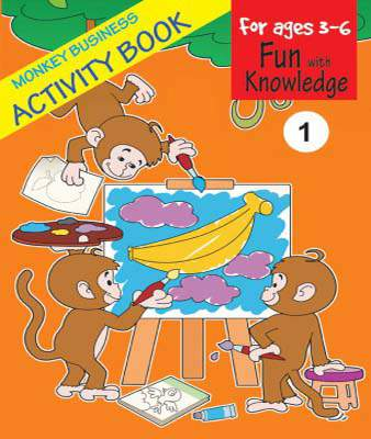 Monkey Business Activity Book 1