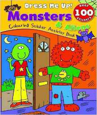 Monsters: Colouring & Sticker Activity Book