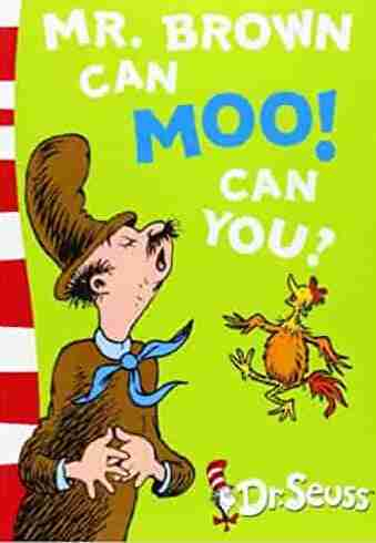 Mr Brown Can Moo Can You Blue Back Book