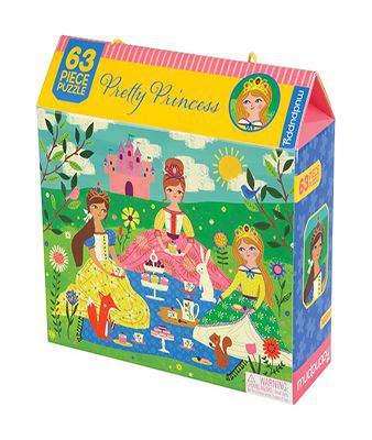 Mudpuppy Pretty Prince 63 Piece Puzzle