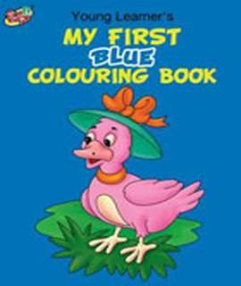 My First Blue Colouring Book