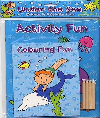 Colour & Activity Fun Under the Sea