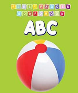 ABC First Padded Board Book -